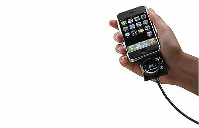 Monster iCarPlay 1000 FM Transmitter Charger Apple iPod iPhone 00050644552373