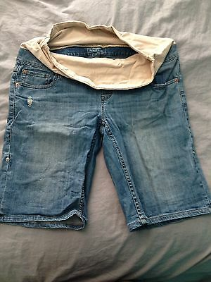 Maternity Shorts Jeans West 14
