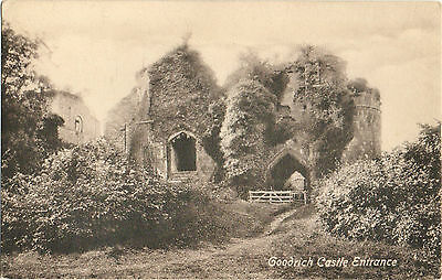 Goodrich Castle Entrance c1910 (Valentine's Ser.)