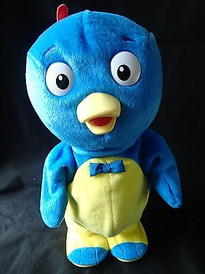 Backyardigans Pablo Sing and Spin Doll Works Great Plush Battery operated 14 in