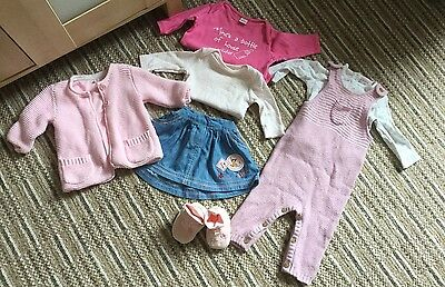 💕 Bundle Of Baby Girls Clothes 0-3 Months 💕