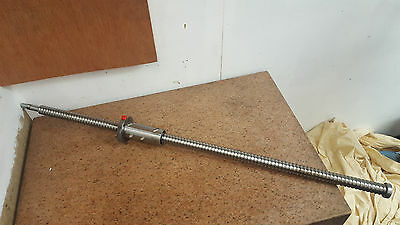 Precision C5 Ground Ballscrew 1200mm long 32mm diameter CNC mill lathe 1 of 3