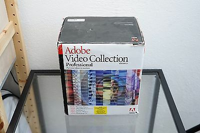 Adobe Video Collection Professional Version 2.5, Photoshop Audition Premiere etc