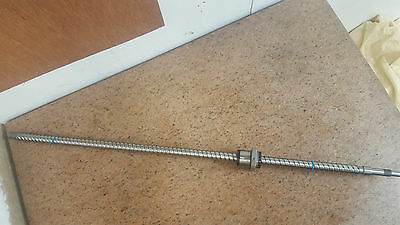Precision C3 Ground Ballscrew 920mm long 20mm diameter CNC mill lathe 2 of 2