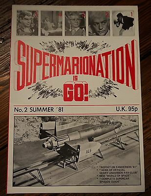 Supermarionation is Go! (No.2 Summer 1981) Gerry Anderson Magazine, SIG,