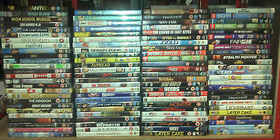 Used DVD Wholesale clearance joblot (100 DVDS)