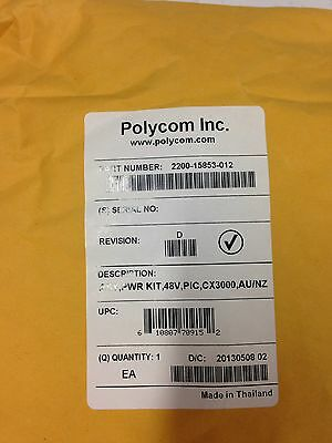 Polycom AC Power Kit for CX3000 (2200-15853-012)