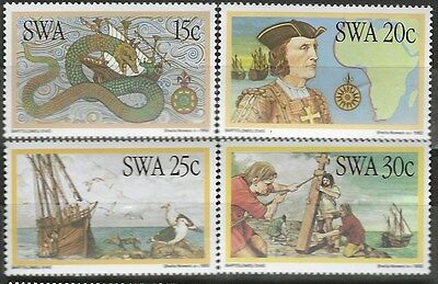 SOUTH WEST AFRICA 1982 Sc#491-4 DISCOVERIES COMPLETE MNH SET 1973