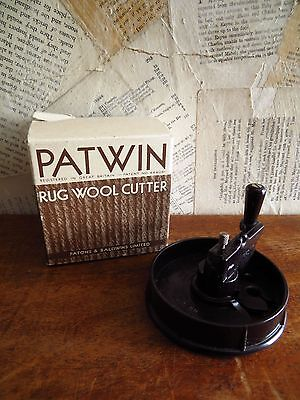 vintage patwin rug wool cutter
