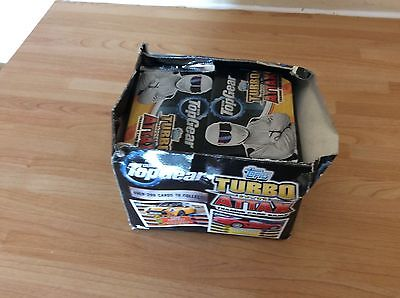 Topps Turbo Attax Top Gear Trading Cards - 50 x Sealed Packets