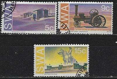 South West Africa 1975 Historic Monuments Used Complete Set 2367