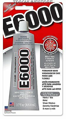 E6000 Crafters / Jewelers Clear Multipurpose Adhesive 3.7oz