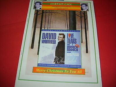 David Whitfield Official UK Magazine Of Commemorative Association 2005