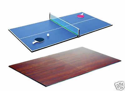 Riley TT-1 Table Tennis Dining Table 6x3 Desk top convertor Snooker Pool table