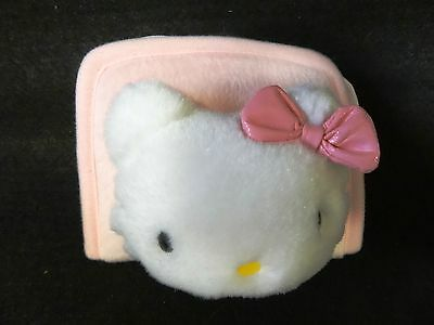 Girls HELLO KITTY Pink Plush Dress Up COIN PURSE Cute COSTUME ACCESSORY BAG