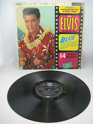 "Elvis Presley - ""blue Hawaii""  Uk Living Stereo Silver Spot 1961"