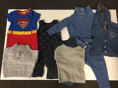 Baby Boys Designer Bundle Next River Island Mini M&S 9-12