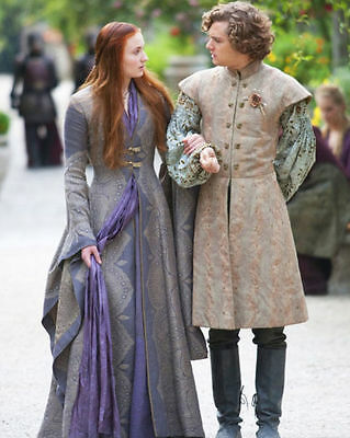 "Sophie Turner Finn Jones 8"" X 10"" Photo Sansa Stark Loras Tyrell Game Of Thrones"
