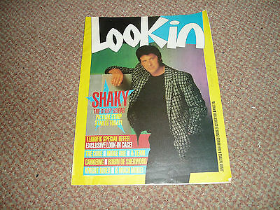 Look In Mag 26 Oct 1985 Shakin' Stevens,the Cure,a Team