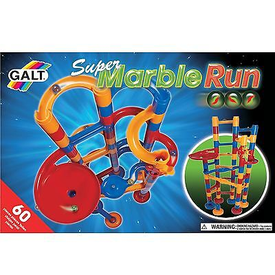 Super Marble Run Galt Construction Toy Game Thick Plastic