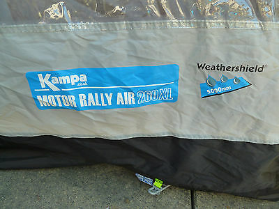 Kampa Motor Rally Air 260 Xl Awning 163 200 00 Picclick Uk