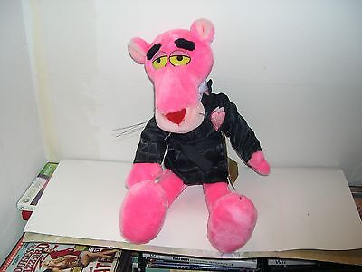 Rare Valentine's Day Macy's Plush Pink Panther Doll W Smoking Jacket/heart/tags