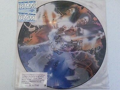 "The  Brothers  Johnson         ""blam""        Picture  Disc"