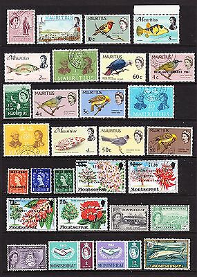 A Selection of Commonwealth Stamps - QEII (m49-185)