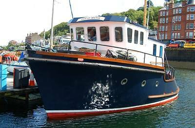 35ft Ex fishing boat  / Motor Boat / Houseboat (ideal live-aboard)