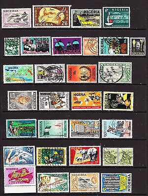 A Selection of Nigeria Stamps (m50-k)