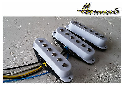 Deluxe Drive Single Coil Pickup Set, Higher Output, Alnico V PU´s handgewickelt