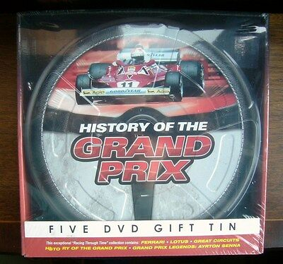 "Formula 1 ""History Of The Grand Prix"" 5 DVD Gift Set"