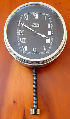 Jaeger 8 Day Car Clock - 1930's - Good Working Order