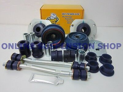 Suits Commodore VT SUPER PRO Full Front Suspension Bush Kit SUPERPRO