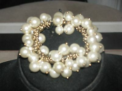 VTG or New Costume Jewelry Signed J.Crew awesome lot  Must see