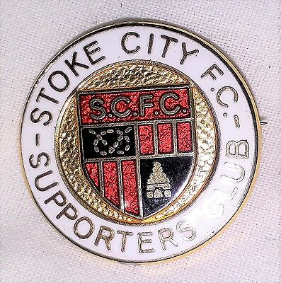 Stoke City Supporters Club Football Badge