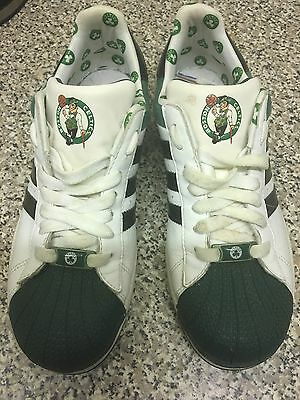 Limited Edition Adidas Boston Celtics Trainers Size 5.5