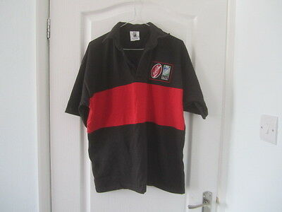 Irb Red/black Rugby World Cup 1999 Top Size Xl