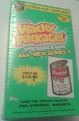 wacky packages series 4- bonus box
