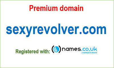 Premium domain name - sexyrevolver.com - Registered with Namesco