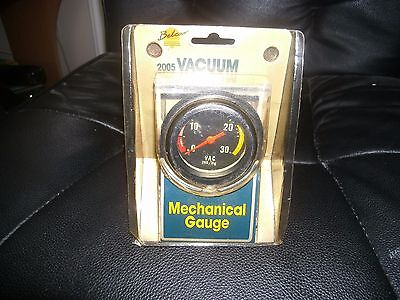 Belcar Classic Car 2005 Vacuum Mechanical Gauge
