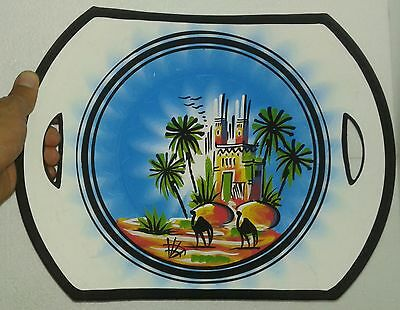 Hand painted Terracotta Bowl Made Vintage Pottery Decorative Moroccan Handmade