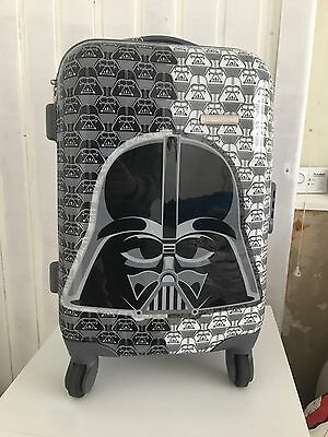 Star Wars American Tourister hard case trolley wheeled cabin bag. Used. Good con