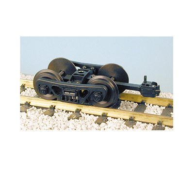 Usa Trains G Scale Blackened Freight Car Truck | Bn | R2038