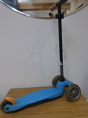 Blue Mini Micro Scooter. In Good Working Order