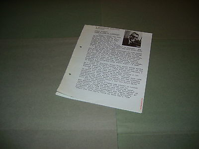Rare Rediffusion TV Sing A Song Of Sixpence 1965 UK Press Release