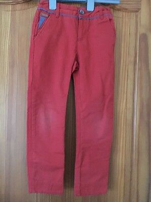 Boys Ted Baker Trousers  Jeans Age 6 Years Orange