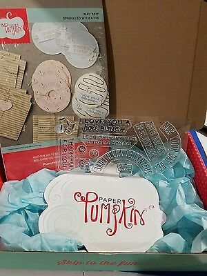 Brand New! May 2017 Paper Pumpkin FULL KIT - Sprinkled with Love - Stampin' Up!