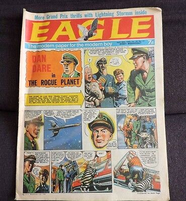 Eagle Comic Vol 20 no 17 Last Eagle issue before Lion Merger RARE issue