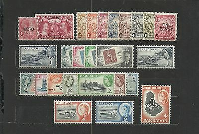 Barbados - Lot - Neufs / Mint (*) & Some (**)